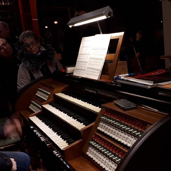 Stadtrat besucht Orgel